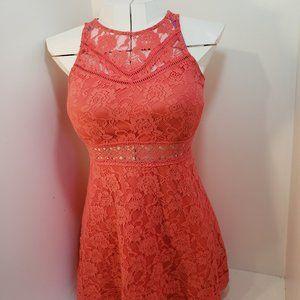 2/$60 Coral Dress Lace